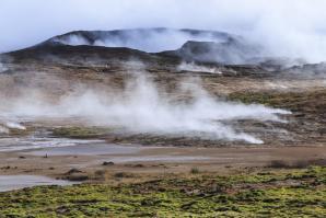 Gunnuhver Hot Springs, Grindavik