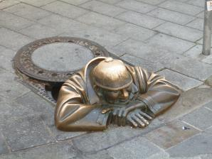 Man At Work- Cumil, Bratislava