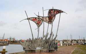 Flood Memorial The Wave, Marken