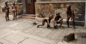 Paul Street Boys Monument, Budapest