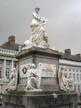 Place Des Martyrs, Brussels