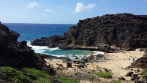 Halona Beach Cove, Honolulu