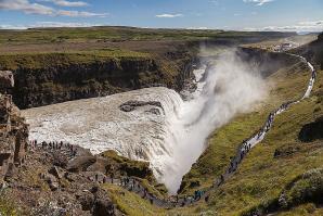 Gullfoss Waterfall, Reykjavik
