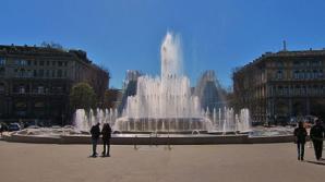 Fontana Di Piazza Castello, Milan