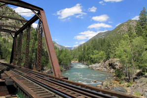 Animas River Trail And Animas River, Durango