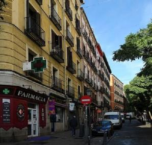 Plaza Lavapies, Madrid