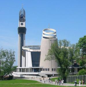 Sanktuarium Bozego Milosierdzia, Krakow
