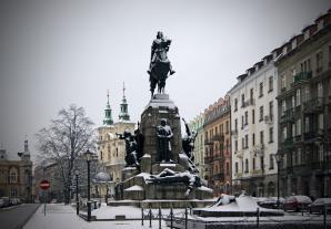Pomnik Grunwaldzki, Krakow