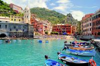 Cinque Terre Smart Group DayTrip by Minivan and ferry from Pisa or Lucca