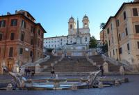 Rome Underground,from the Spanish steps to the Vicus Caprarius and the Trevi Fountain