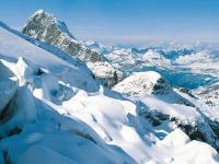 Titlis's glacier from Lucerne