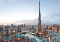At The Top of Burj Khalifa - breath taking Dubai View