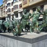 San Fermin - Running of the Bulls in Pamplona
