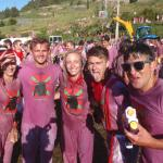Splash Wine At The San Vino Wine Fight Festival in Spain