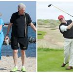 Donald Trump and Hillary Clinton Vacation Before D-day