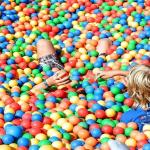Take a dive in the world's largest plastic ball pool!