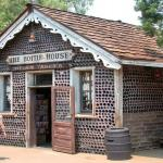 Houses Built By Using Recycled Bottles!