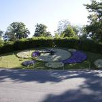Geneva Flower Clock Or Horloge Fleurie