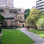 Anzac Square And Shrine Of Remembrance