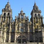 Cathedral Of Santiago Of Compostela Or Catedral De Santiago De Compostela