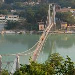The Ram Jhula Bridge