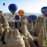 Hot Air Ballooning In Pamukkale