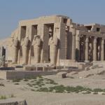 Ramesseum Or Mortuary Temple Of Ramses I I