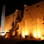 Sound And Light Show At Karnak