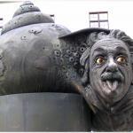 Albert Einstein Denkmal