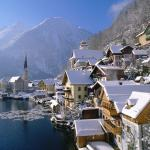 Hallstatt City View