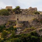 Angelokastro Castle