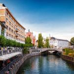 River Ljubljana Kanal