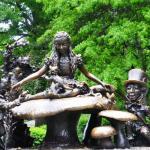 Alice In Wonderland Statue