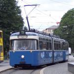 Trams In Munich