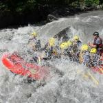 River Rafting Through Lutschine