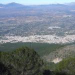 Sierra De Alhaurin El Grande (malaga). Fin Pista Forestal Abierta (cadena)