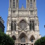 Towers Of Reims Cathedral