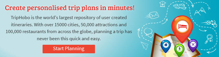 create your itinerary