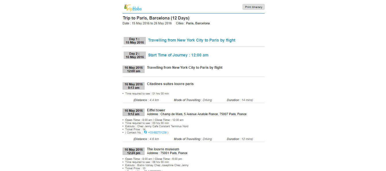 How to Make an Itinerary: Step by Step Prepare Itinerary: TripHobo